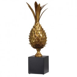 gold pineapple trophy 57cm